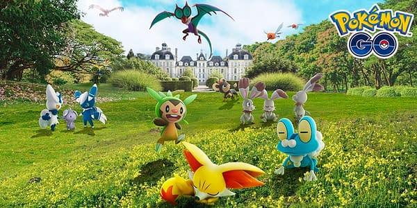 Kalos species in Pokémon GO. Credit: Niantic