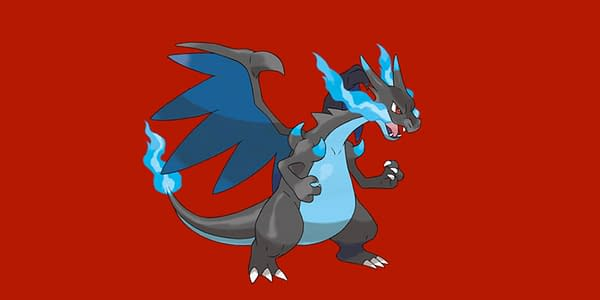 Mega Charizard X official artwork. Credit: The Pokémon Company