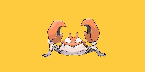 Krabby official artwork. Credit: Pokémon Company International