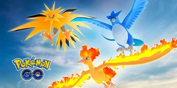 Kanto Birds in Pokémon GO. Credit: Niantic
