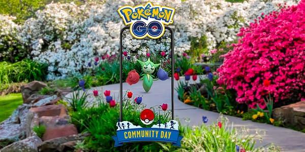 Roselia in Pokémon GO. Credit: Niantic