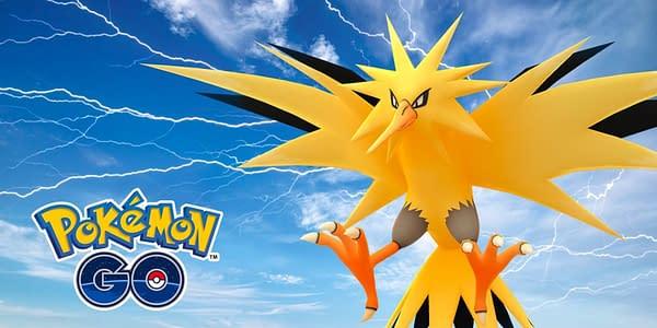 Zapdos in Pokémon GO. Credit: Niantic
