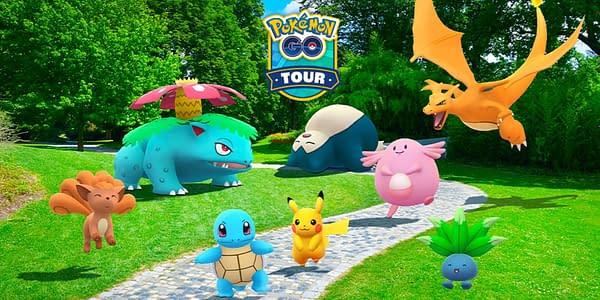 Pokémon GO Tour: Kanto graphic. Credit: Niantic