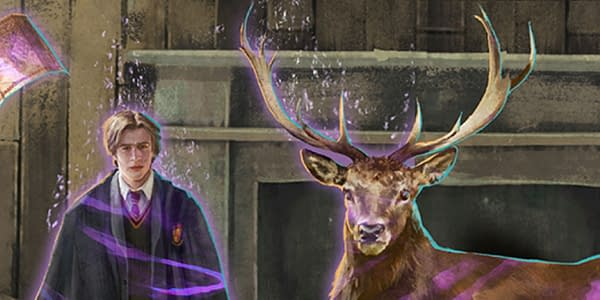 New Mauraders graphic in Harry Potter: Wizards Unite. Credit: Niantic