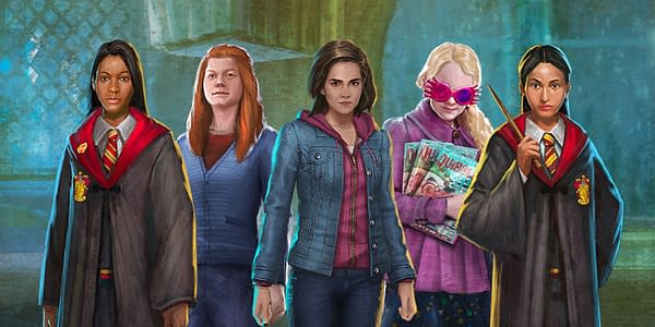 Harry Potter: Wizards Unite characters. Credit: Niantic