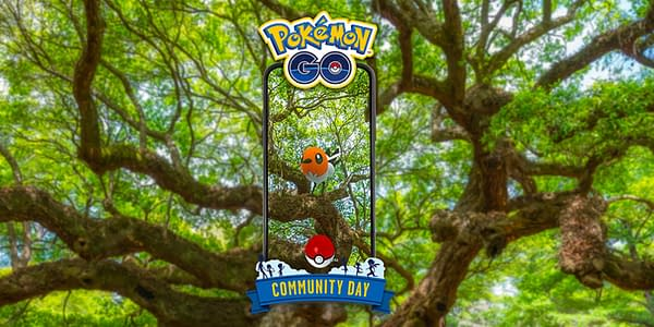 Fletchling Community Day graphic in Pokémon GO. Credit: Niantic