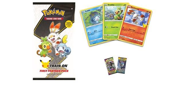 First Partner Pack: Galar contents. Credit: Pokémon TCG