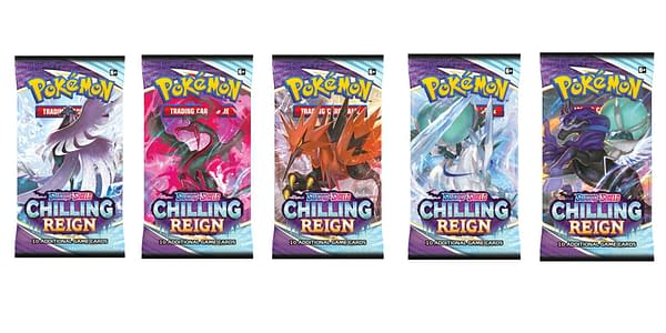 Chilling Reign pack art. Credit: Pokémon TCG