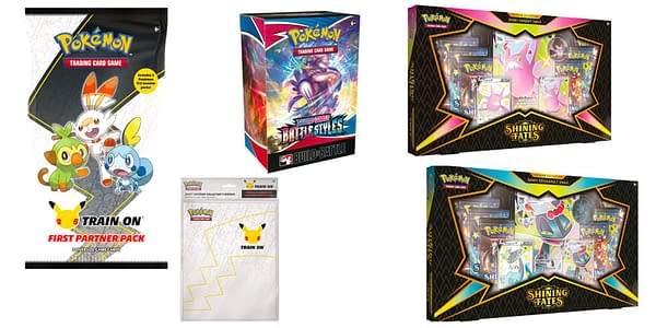 Pokémon TCG products releasing this week. Credit: TPCI