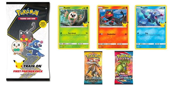 First Partner Pack: Alola. Credit: Pokémon TCG