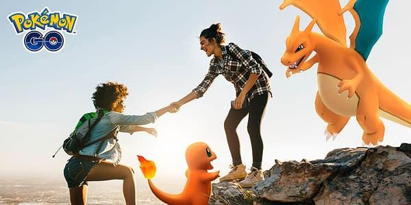 Pokémon GO-trainers. Krediet: Niantic