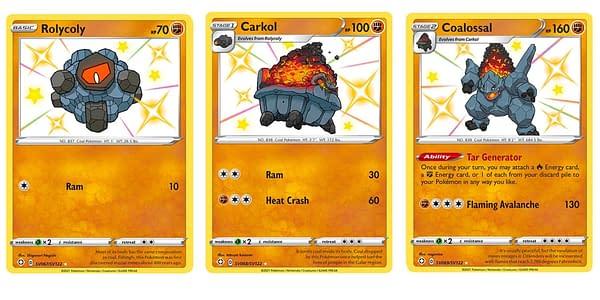 Shining Fates cards. Credit: Pokémon TCG