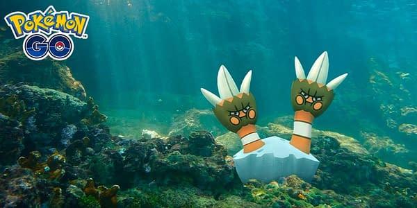 Binacle in Pokémon GO. Credit: Niantic
