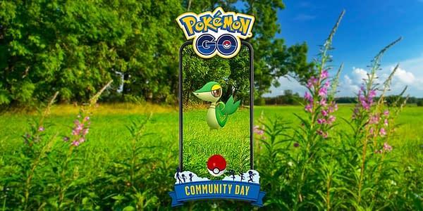 Snivy Community Day image in Pokémon GO. Credit: Niantic