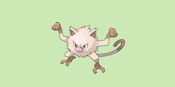 Official Mankey artwork. Credit: Pokémon Company International