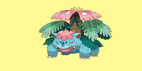 Official Mega Venusaur artwork. Credit: Pokémon Company International