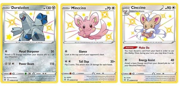 Pokémon Cards of Shining Fates. Credit: Pokémon TCG