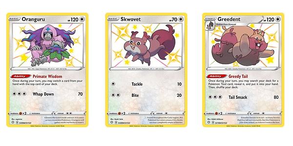 Cards of Shining Fates. Credit: Pokémon TCG