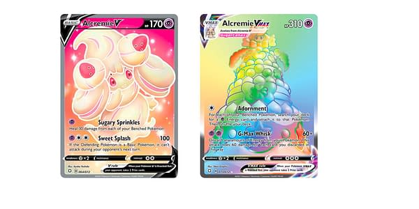 Cards of Shining Fates. Credit: Pokémon TCG
