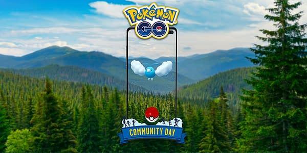 Swablu Community Day in Pokémon GO. Credit: Niantic