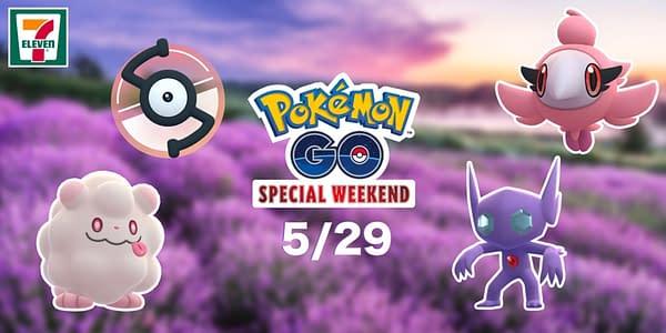 Pokémon GO Special Weekend graphic. Credit: Niantic