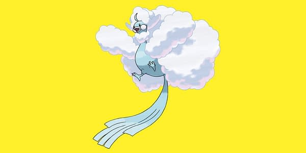 Mega Altaria design. Credit: Pokémon Company