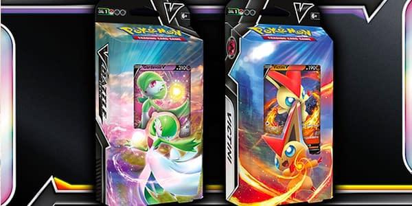 Gardevoir & Victini V Decks. Credit: Pokémon TCG