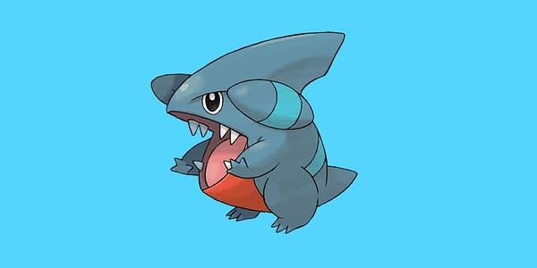 Gible in Pokémon GO. Credit: Niantic