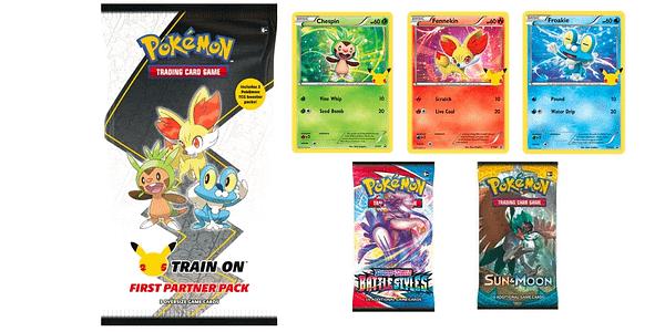 First Partner Pack: Kalos. Credit: Pokémon TCG