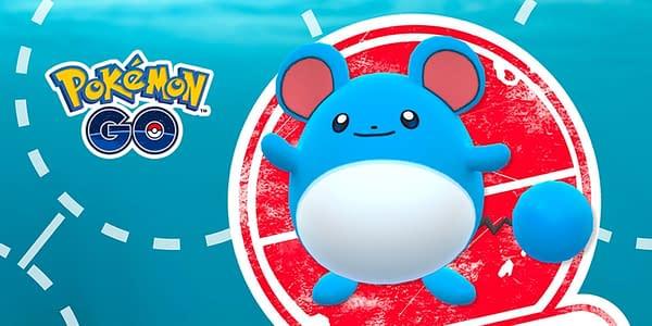 Marill in Pokémon GO. Credit: Niantic