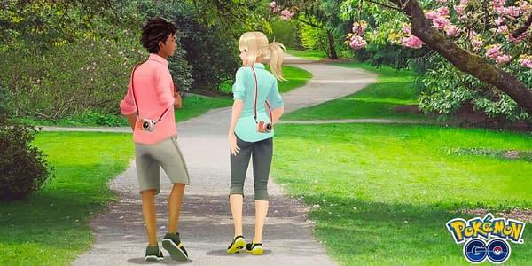 Trainers in Pokémon GO. Credit: Niantic