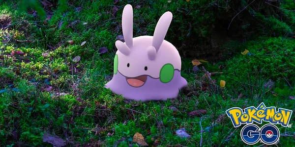 Goomy in Pokémon GO. Credit: Niantic