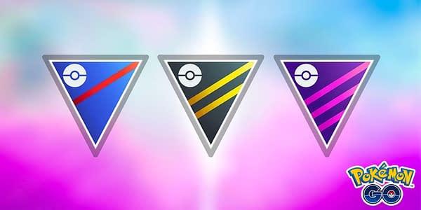 PVP leagues in Pokémon GO. Credit: Niantic