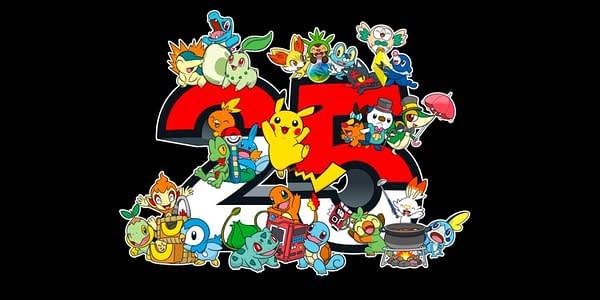 25th Anniversary logo. Credit: Pokémon TCG