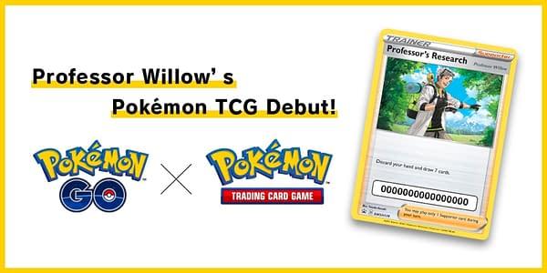 Professor Willlow card. Credit: Pokémon GO & TCG