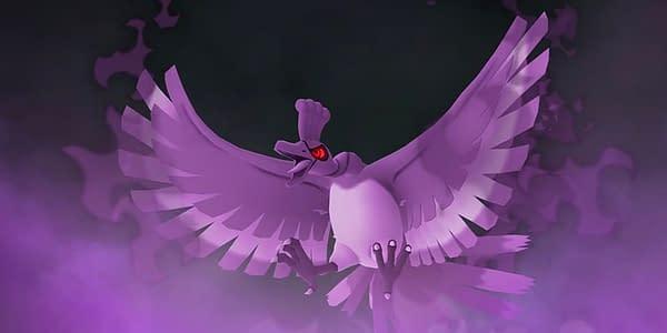 Shadow Ho-Oh in Pokémon GO. Credit: Niantic