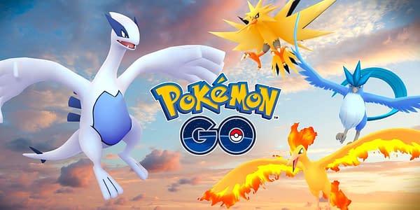 Legendaries in Pokémon GO. Credit: Niantic