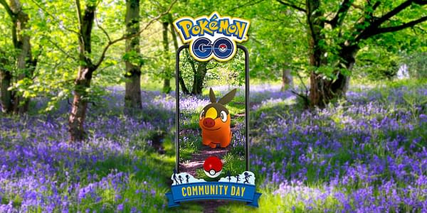 Tepig Community Day graphic from Pokémon GO. Credit: Niantic