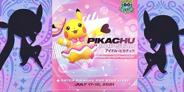Pop Star Pikachu in Pokémon GO. Credit: Niantic