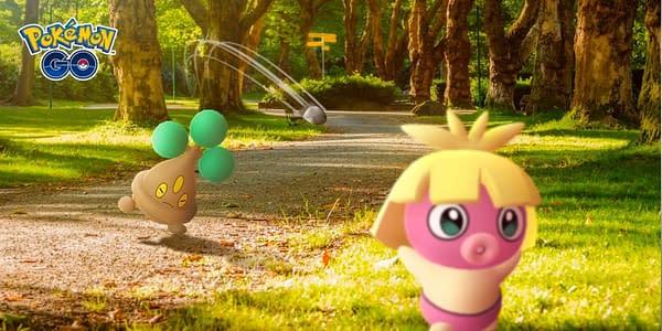 Pokémon GO battle graphic. Credit: Niantic