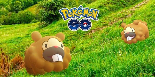 Bidoof in Pokémon GO. Credit: Niantic