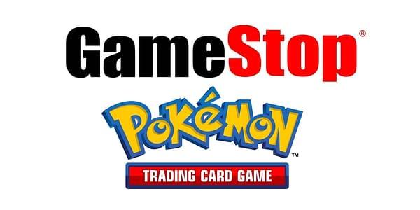 Logos. Credit: GameStop & Pokémon TCG.
