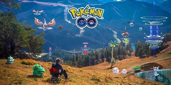 New Pokémon GO promo image. Credit: Niantic