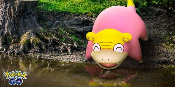 Galarian Slowpoke in Pokémon GO. Credit: Niantic