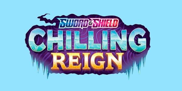 Chilling Reign logo. Credit: Pokémon TCG