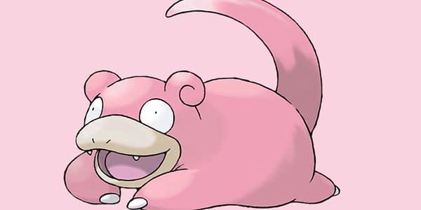 Slowpoke official artwork. Credit: Pokémon Company