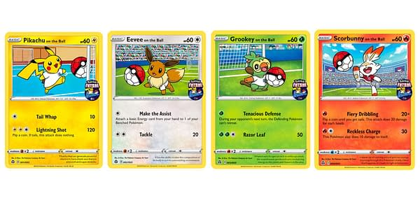 Futsal Promo Cards. Credit: Pokémon TCG