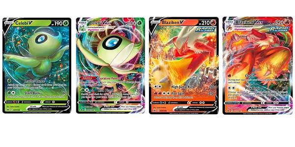 Chilling Reign cards. Credit: Pokémon TCG