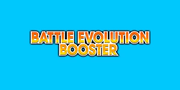 Battle Evolution Booster logo. Credit: Dragon Ball Super Card Game