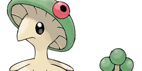 Breloom artwork. Credit: Pokémon Company